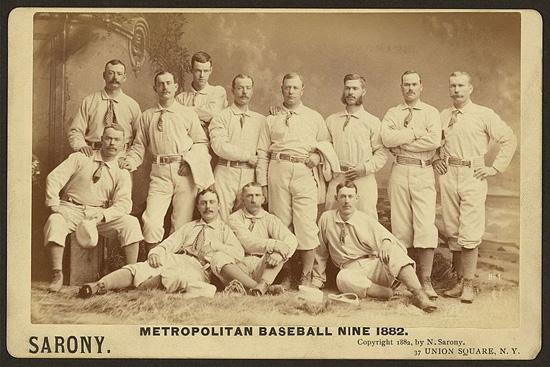 Jim Mutrie, John B. Day, Mets, National League, New York City, NY Mets, Polo Grounds, The Metropolitan Club