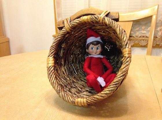 Day 1: We found Kira the Elf in the Thanksgiving cornucopia
