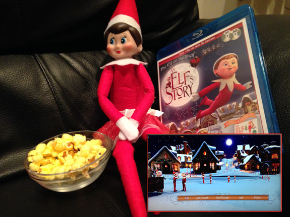 Day 11: We found Kira the Elf watching 'An Elf's Story'