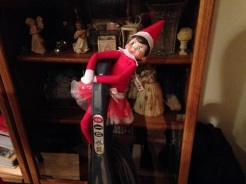Day 22: We found Kira the Elf wanting to help clean for Christmas Eve