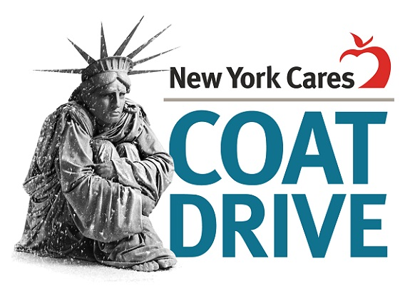 New York Cares coat drive