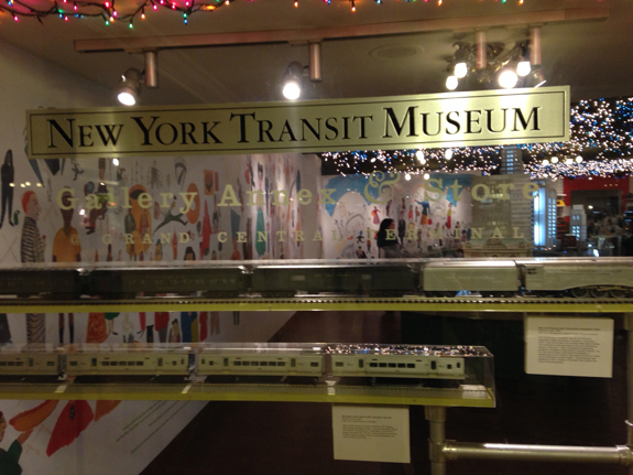 Holiday train show at grand central the guy corner nyc for Ny transit museum store