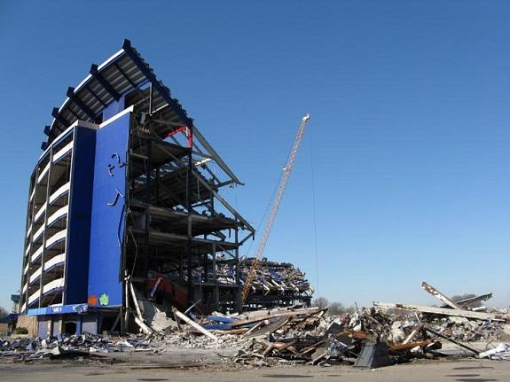 Shea Stadium, demolition, WWE, WWF, soccer, Led Zepplin, The Beatles, football, NY Jets, NY Yankees