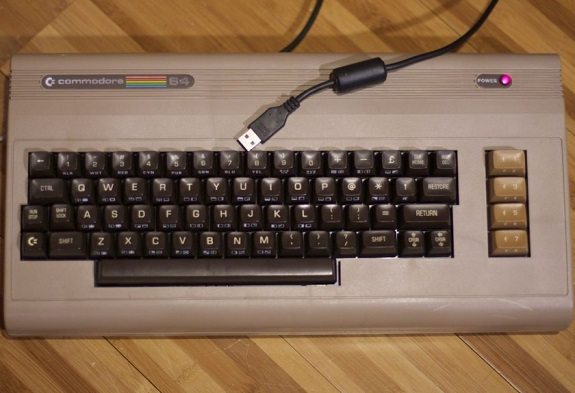 1982, Apple, Atari, C64, Commodore 64, David A. Ziembicki, keyboard, pc, usb