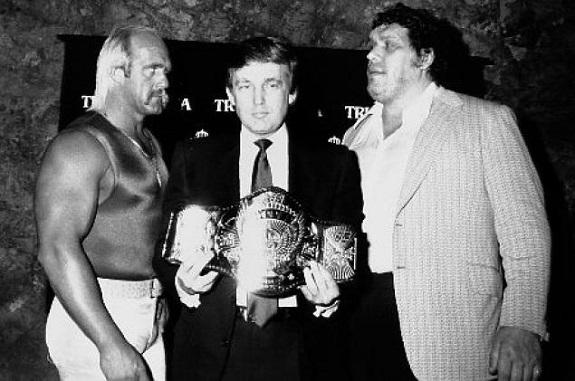 Hogan vs. Andre, International Soccer League, Mets, NY Mets, Shea Stadium, soccer, wrestling, WWE, WWF
