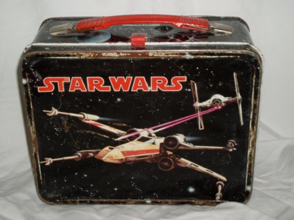 Star Wars, lunchbox, kids, lunch, vintage