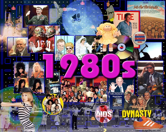 1980s, Atari 2600, Breakfast Club, capezios, Dukes of Hazzard, Fast Times at Ridgemont High, Ferris Bueller's Day Off, games, growing up, kids, MacGyver, Matchbox cars, Miami Vice, Sixteen Candles, Star Wars figures, Television program