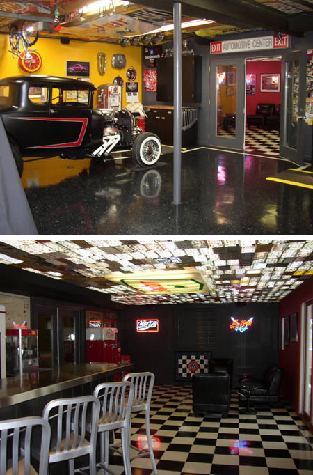 Automotive Man Cave