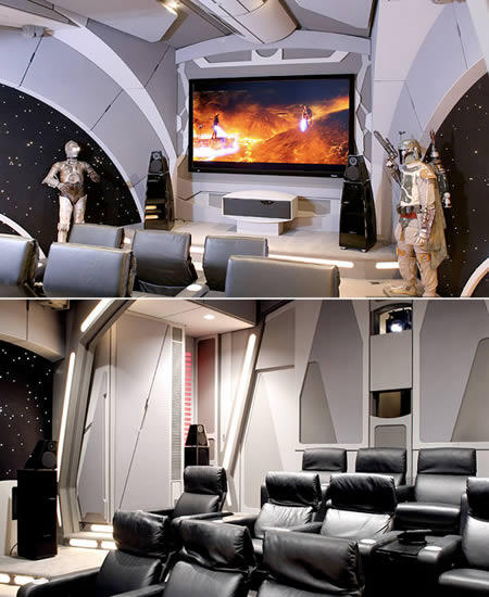 Death Star Man Cave