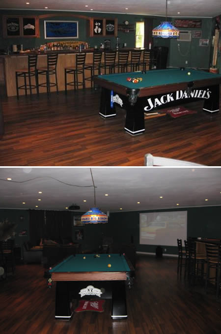 Pool Bar Man Cave
