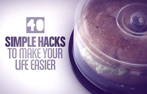 40 life hacks