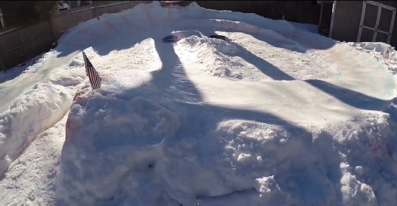 backyard luge