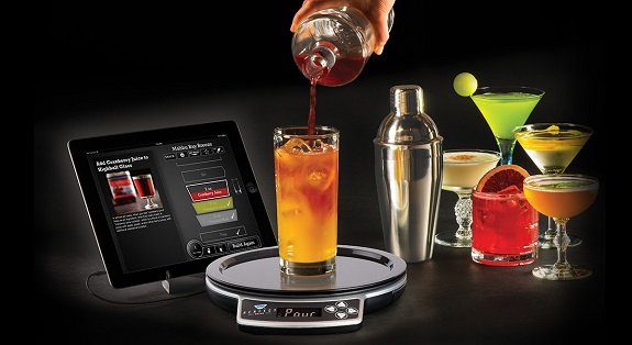 Who will be the bartender at your next gathering the for Perfect drink bluetooth scale