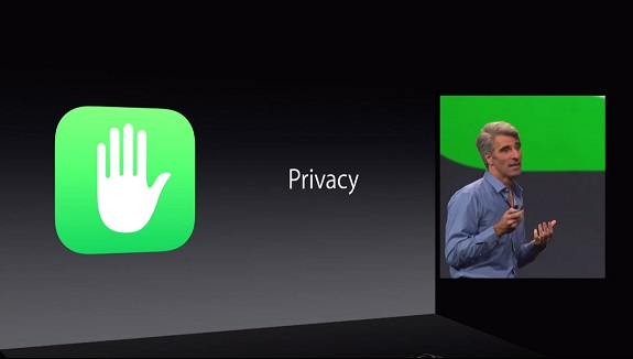 Apple Privacy, iOS 8, photos, messages, attachments, email, contacts, call history, iTunes content, notes, reminders, iPhone, data, passcode