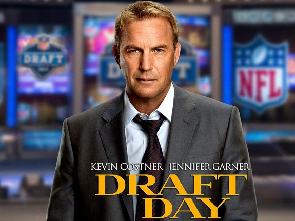 Draft Day, Movie Review, Movie, Drama, Sports, Kevin Costner, Jennifer Garner, NFL