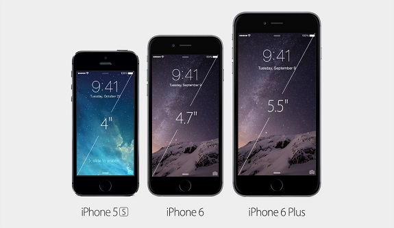Apple, iPhone 6, iPHone 6 Plus, NFC, larger screen, NFC, Apple Pay, HD Retna display
