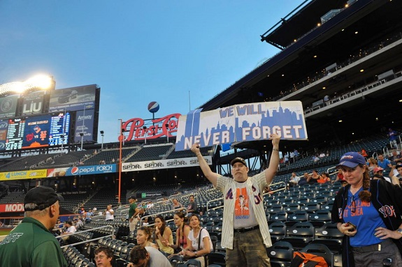 September 11, 9/11, MLB, Mets, The 7 Line, baseball, Never Forget