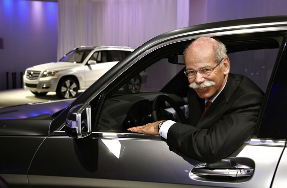 Daimler AG, Dr. Dieter Zetsche, Mercedes-Benz,  CES, Consumer Electronics Association,