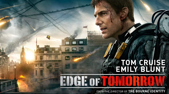 Movie Review, Action, Sci-Fi, Thriller, Edge of Tomorrow