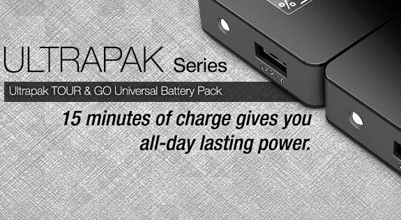 Ultrapak, Go, Tour, uNu, power pack, tech, technology, product review,
