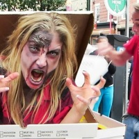 The Zombie Pizza Prank