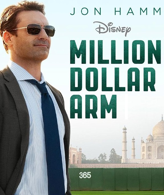 Million Dollar Arm, Movie  Review, Drama, Sports