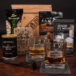 Personalized Whiskey Crate, Man Crates, Gifts for men,