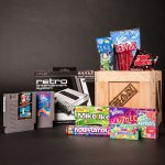 Retro Gamer Crate, Man Crates, Gifts for men,