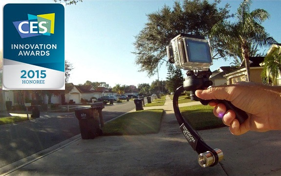 Steadicam Curve For GoPro HERO, Steadicam Curve, technology, CES Unveiled, Tiffen, GoPro, Hero