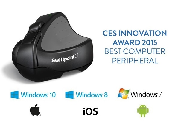 Swiftpoint GT, CES, Innovation Award, Kickstarter, CES Unveiled, Technology, Gesture Technology