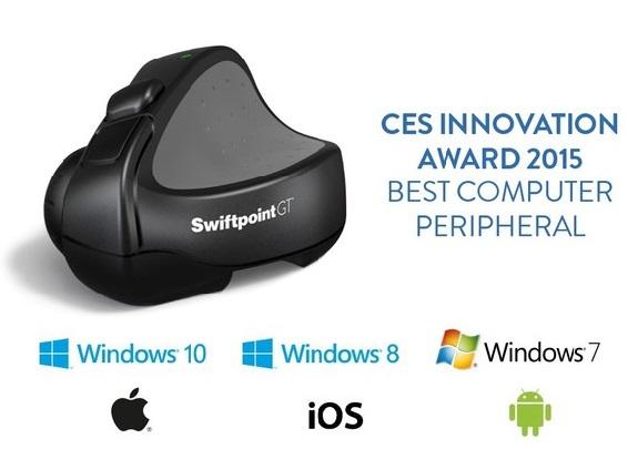 Swiftpoint GT, CES, Innovation Award, Kickstarter, CES Unveiled, Technology, Gesture Technology