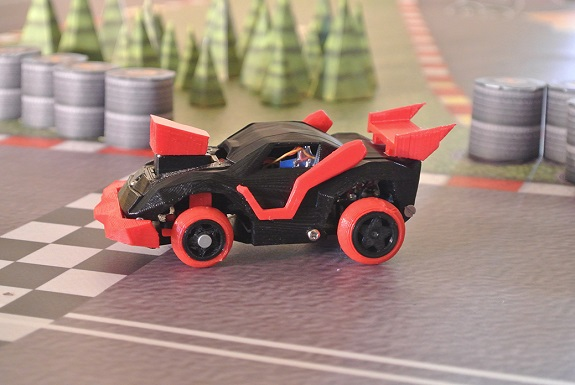 3DRacers, 3D Printing, toys racing game, smartphone, radio controlled cars