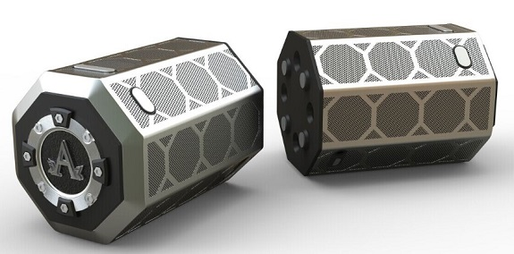A-Audio Prodigy, A-Audio, Bluetooth Speaker, Three-Stage Listening Technology,  Christian Iacovelli