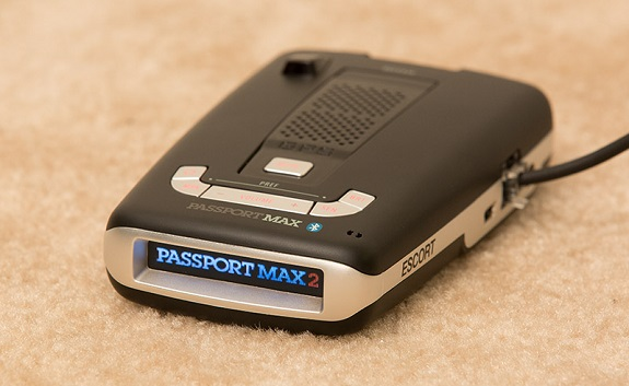 Escort Passport Max 2 Radar, speed traps, radar detector, Product Review