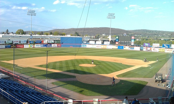 NYSEG Stadium, Binghamton Mets, B-Mets, baseball, minor league