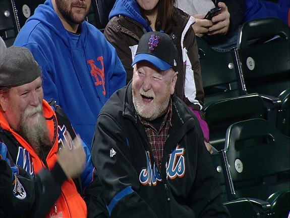 Pete Flynn, Groundskeeper, NY Mets, Irish