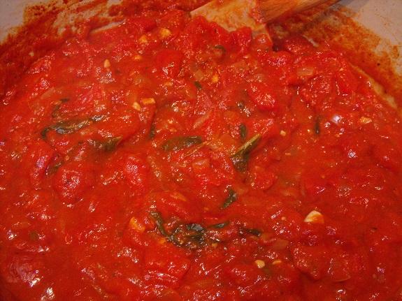 Simple Marinara Sauce, Italian, Recipe,