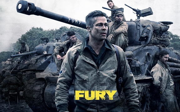 Action, Military, Movie Review, Fury