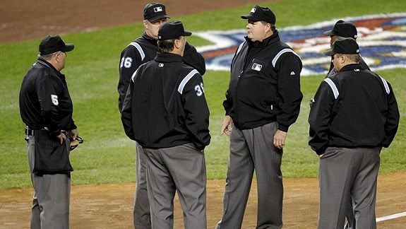 MLB, Rules, Pace of Game and Instant Replay Committees, umpires