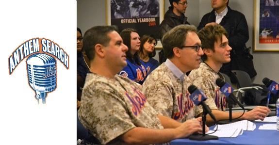 NY Mets, Citi Field, Anthem Search, Skeery Jones, Gary Apple
