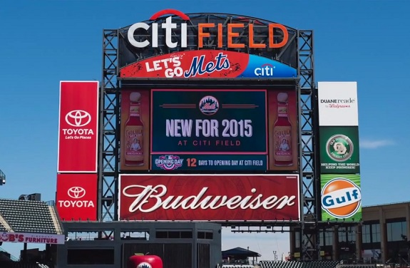 Mets scoreboard, Citi Field, NY Mets, Free Shirt Fridays, Concerts, Fireworks, Foodie,