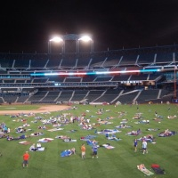 "Mets Host ""2015 Citi Field Sleepover"" Presented By Bedgear™"