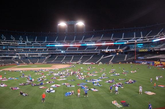 bedgear, Citi Field, Citi Vision, NY Mets, PIX 11, Sleepover