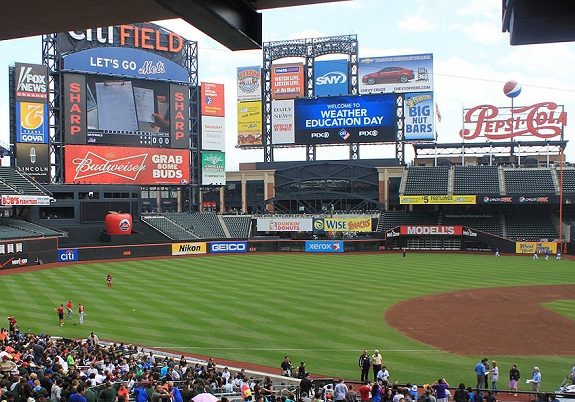 Citi Field, Linda Church, Mr. G., NY Mets, PIX11, PIX11 Morning News, Weather Education Day