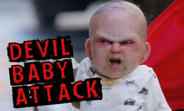 Devil Baby Attack, New York City, NYC, Rosemary's Baby, stunt, Thinkmodo, viral video