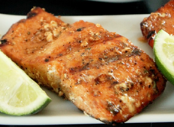 Mesquite Grilled Salmon, foodie, food, grilling, BBQ, fish