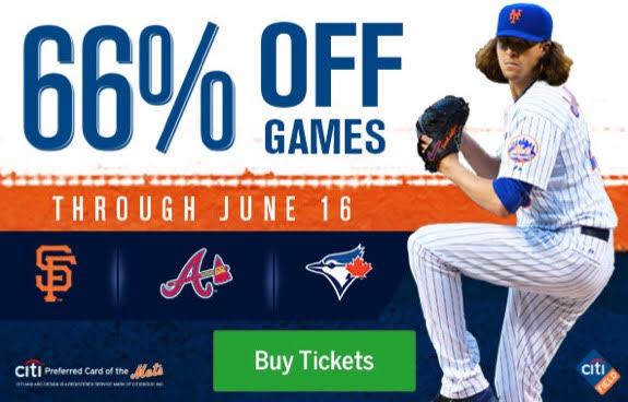 NY Mets, discounts, Citi Field, Baseline Box, Left Field Landing, Promenade Outfield