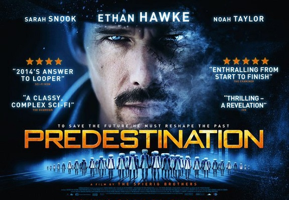 Fantasy, Sci-Fi, Movie Review, Predestination, Ethan Hawke