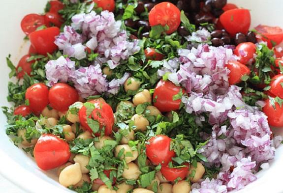 Fiesta Bean Salad,  beans, Foodie, Recipe, salad, summer, summertime BBQ