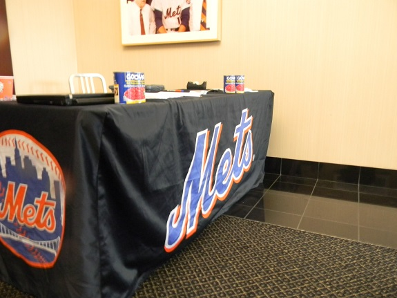 Mets, Food Drive, Hain Celestial, Terra Chips, Garden of Eatin', Plainville Farms, Citi Field, The River Fund New York